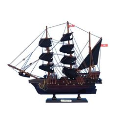 """Wooden Henry Avery's The Fancy Model Pirate Ship 14"""""""