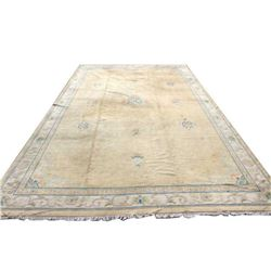 Large, Vintage and Finely Woven Handmade