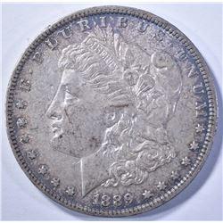 1889-O MORGAN DOLLAR, CH BU