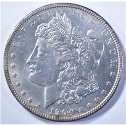 1904 MORGAN DOLLAR, CH BU KEY DATE