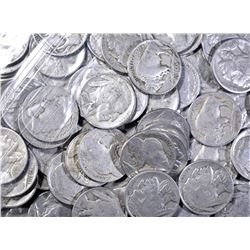 74 BUFFALO NICKELS MOSTLY GOOD TO FINE