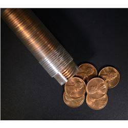 1946-S BU LINCOLN CENT ROLL