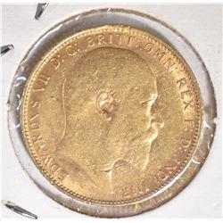 1905 BRITISH GOLD SOVEREIGN