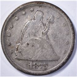 1875-S 20 CENT FINE