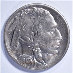1913-S TYPE 1 BUFFALO NICKEL CH BU