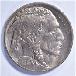 1913-D TYPE 1 BUFFALO NICKEL CH BU +