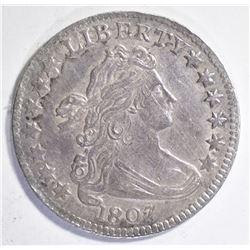 1807 BUST DIME AU/BU
