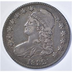 1832 BUST HALF DOLLAR, XF a little dark
