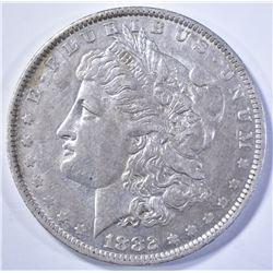 1882 O/S MORGAN DOLLAR AU
