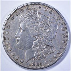 1884-S MORGAN DOLLAR XF+ KEY DATE