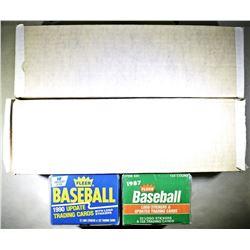 FLEER BASEBALL LOT: 1988 & 1989 CARDS,