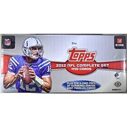 2012 NFL COMPLETE SET