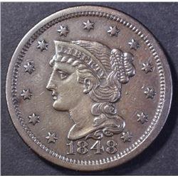 1848 LARGE CENT, AU