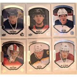 2015-16 Upper Deck Rookie Portraits 6 Card Lot Jake