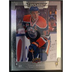 2017-18 Upper Deck Compendium Connor Mcdavid