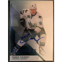 2014-15 SP Game Used Autograph Rookie Chris Tierney