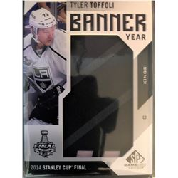 2016-17 SP Game Used Banner Year Tyler Toffoli #BSC-TT