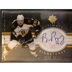 2006-07 Ultimate Collection Autograph Brad Boyes