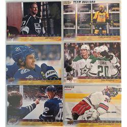 2017 18 Upper Deck Canvas 6 Card Lot Henrik Lundqvist