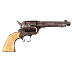 Colt Model 1873 Single Action With Ivory Grips