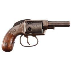 Allen & Wheelock Bar Hammer 5 Shot Revolver .28