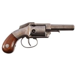 Allen & Wheelock Bar Hammer 5 Shot .32 Low Serial