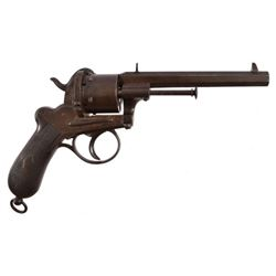 Houllier & Blanchard Pin-Fire Revolver