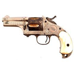 Factory Engraved Merwin Hulbert .44-40 Revolver