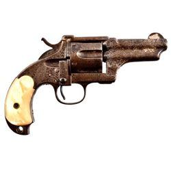 Engraved Merwin Hulbert .44-40 Revolver