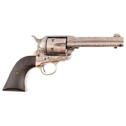 Colt 1873 Single Action .32-20 Fully Engraved