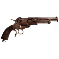 LeMat First Model Confederate Revolver