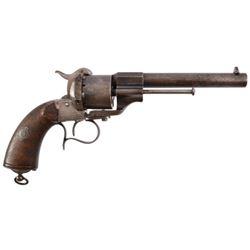 Confederate LeFaucheux Pin-fire Revolver