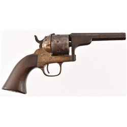 Engraved Moore's Patent Firearms Co. Belt Revolver