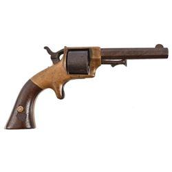 E.A. Prescott .32 Rimfire Revolver