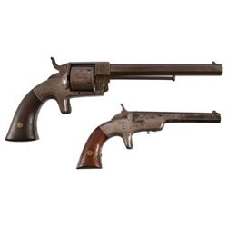 Pair of Bacon Arms Co. Pistols Both Serial No. 139