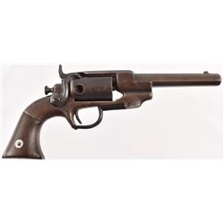 Allen & Wheelock Side Hammer Revolver