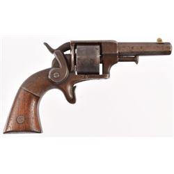 Allen & Wheelock Side Hammer .32 Rimfire Revolver