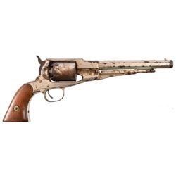 Nickel Remington Model 1858 Revolver