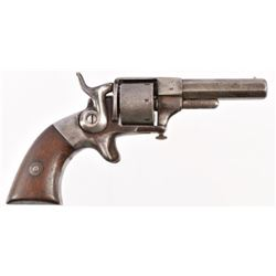 Allen & Wheelock Side Hammer Pocket Revolver No.62