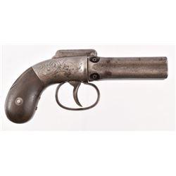 Allen & Wheelock Pepperbox Revolver