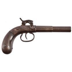 Union Single Shot Percussion Pocket Pistol