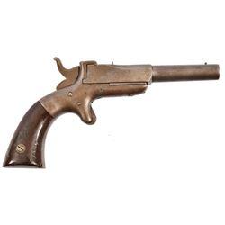 Allen & Wheelock Single Shot Pistol