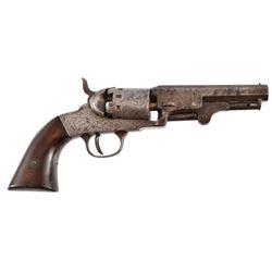Engraved Manhattan Pocket Navy .36 Revolver