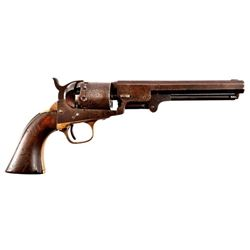 Manhattan 1851 Navy Model Percussion Revolver