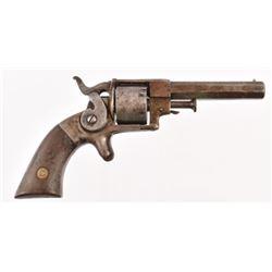 Allen & Wheelock 22 Side Hammer Pocket Revolver