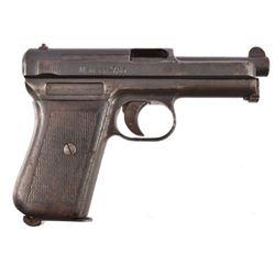 Mauser 7.65 Auto Pistol