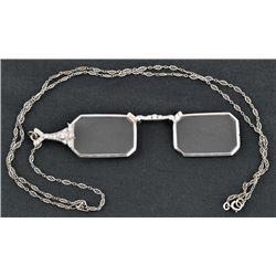 Art Deco Tiffany Co Platinum Diamond Opera Glasses