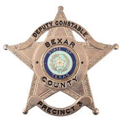 Bexar County Texas Deputy Constable Badge