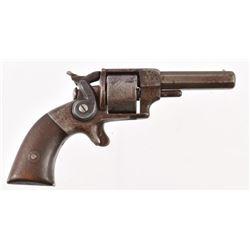 Allen & Wheelock Side Hammer Pocket Revolver