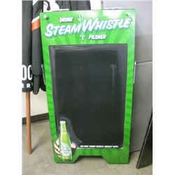 STEAM WHISTLE - SANDWICH BOARD